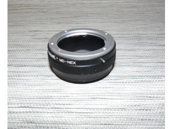 Objektiv Adapter Minolta MD - Sony E (nex) - Trollhättan - Objektiv Adapter Minolta MD - Sony E (nex) - Trollhättan