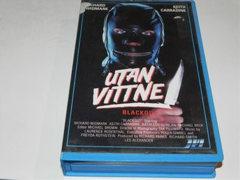 Utan vittne Blackout 1985 Keith Carradine JUNO MEDIA VHS