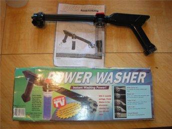 Power Washer, kopplas till vanlig vattenslag men ger högre tryck - Södertälje - Power Washer, kopplas till vanlig vattenslag men ger högre tryck - Södertälje