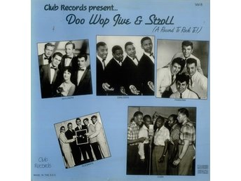 Doo wop jive & Stroll (A record to rock to) vol 8