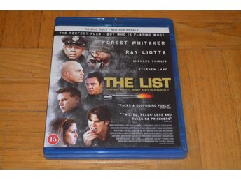The List ( Forest Whitaker Ray Liotta ) - Bluray Blu-Ray