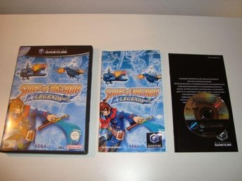 Gamecube - Skies of Arcadia Legends - Svensksålt