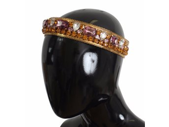 Dolce & Gabbana - Crown Gold-plated Crystal Sicily GEMME Tiara Headband
