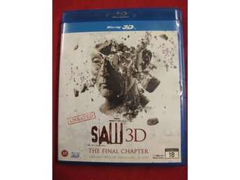 SAW 3D THE FINAL CHAPTER - UNRATED -BLU-RAY / BLU-RAY 3D