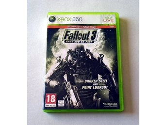 Fallout 3 Game Add-On Pack: Broken Steel and Point Lookout - Xbox 360 Bethesda