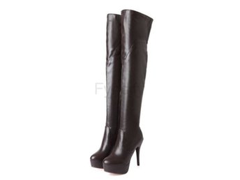 Dam Boots Long Boot Warm Winter Footwear Shoes Brown 39