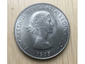 Storbritannien, Churchill Crown 1965