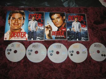 DEXTER - SÄSONG 2 (MICHAEL C.HALL,JULIE BENZ,JENNIFER CARPENTER) 5-DISC DVD