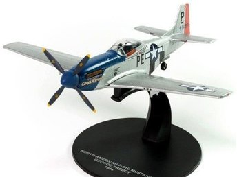 Atlas Editions P-51D Mustang - George Preddy 1944 - 1/72 scale