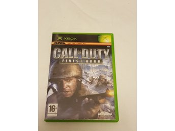 Call of Duty: Finest Hour - XBOX (Komplett)