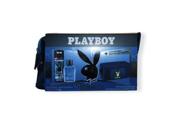 Giftset Playboy King Of The Game Edt 60ml + DSP 150ml + TBAG