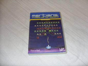 Martians Invaders From Space PC CD ROM spel Spansk & Portugal Sherwood Media