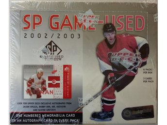 2002/2003 Upper Deck SP Game-Used Edition Hobby Box