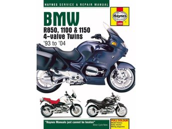 Haynes manual BMW R850, 1100 & 4-valve, 93-04