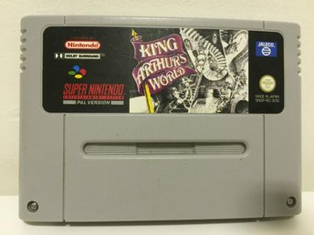 King Arthur World - Super Nintendo - Svensksålt