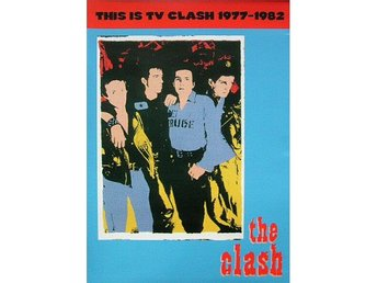 The Clash -This is TV Clash 1977-1982 dvd Rare TV appearance