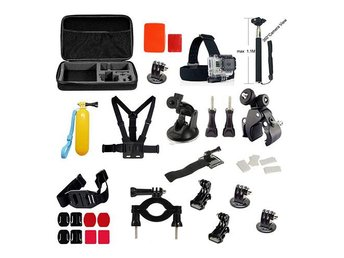 39 In 1 GoPro Outdoor Accessories Kit With Monopod, Headstr - Malmö - 39 In 1 GoPro Outdoor Accessories Kit With Monopod, Headstr - Malmö