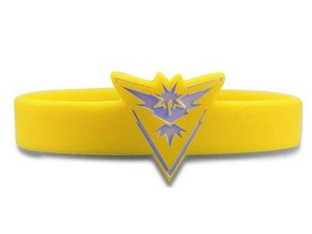 Pokemon Go 4 gula band silikon armband gym team