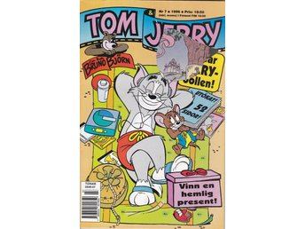 Tom& Jerry Nr 7 1996 GD-VF