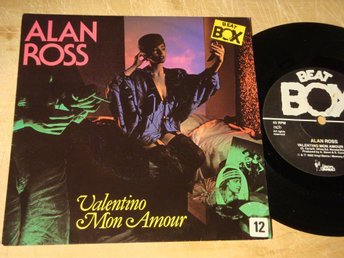 "ALAN ROSS - VALENTINO 7"" 11985 BEAT BOX"