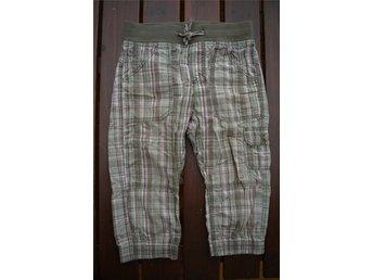 Rutiga knickers / långa shorts L.O.G.G - H&M , storlek: 128 - Eskilstuna - Rutiga knickers / långa shorts L.O.G.G - H&M , storlek: 128 - Eskilstuna