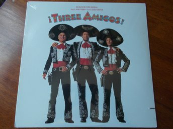 THREE AMIGOS LP Soundtrack Warner USA 1987 SEALED Steve Martin Chevy Chase