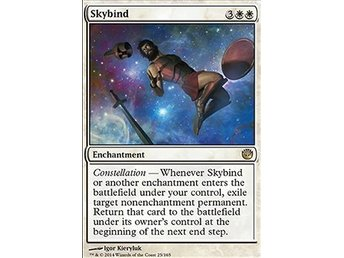Magic the Gathering - Journey into Nyx - Skybind - FOIL