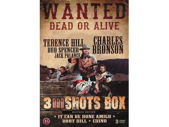 3 Shots box - 3 filmer (3 DVD)