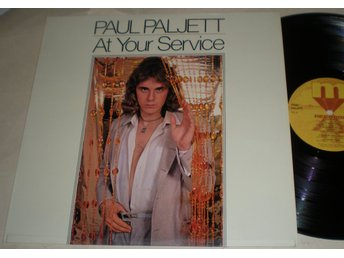 Paul Paljett Lp At Your Service 1978 VG++