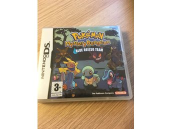 Pokemon Mystery Dungeon Blue Rescue Team Nintendo DS