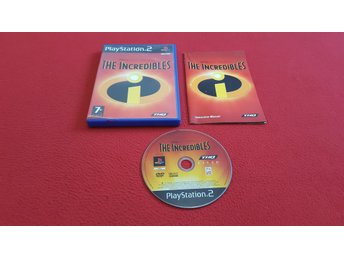THE INCREDIBLES till Sony Playstation 2 PS2