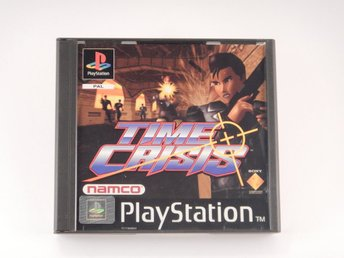 Nyskick  --  Time Crisis  --  Playstation / 1 Ps1  --  PAL