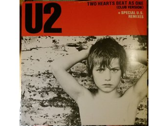 U2 Two hearts beat as one vinyl