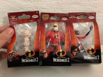 "Incredibles 2 ""Superhjältarna 2"" Minifigurer"