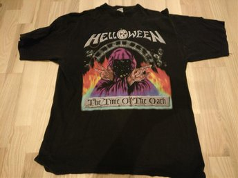 Hårdrock Helloween t-shirt The Time of The Oath