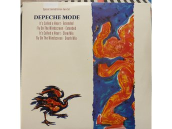 2xsingel LP - Vinyl - Depeche Mode -Special limited edition Twin set- 1990 -synt
