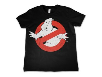 Ghostbusters T-shirt Distressed Logo Barn 8 år