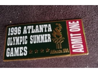 Pin Atlanta Olympic Summer Games Admit One OS
