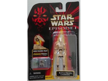 Star Wars Episode 1 Battle Droid with Blaster Rifle