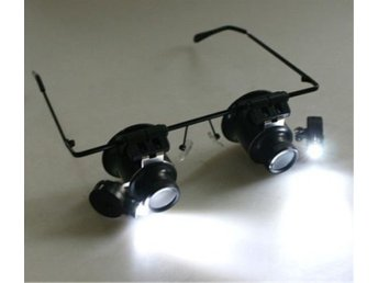 Repair Magnifier with LED Lights