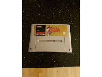 Super Nintendo: Zelda - A Link To The Past. SCN