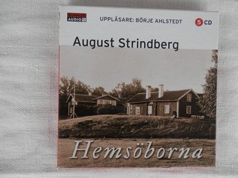 CD-bok.Hemsöborna av August Strindberg!
