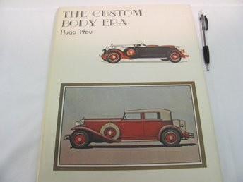 The Custom Body Era av Hugo Pfau (signerad)