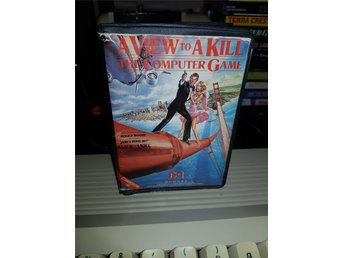 A VIEW TO A KILL - JAMES BOND 007 till Commodore 64