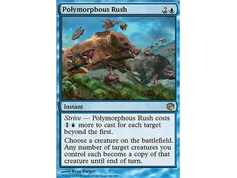 Magic the Gathering - Journey into Nyx - Polymorphous Rush - FOIL