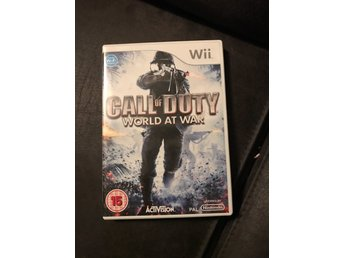 Call Of Duty World At War Wii komplett