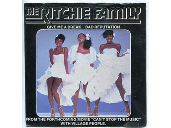 "The Ritchie Family -Give me a break 7""Arrival rec Swede 1980"