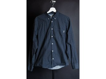 Carhartt Dot Shirt Marinblå Medium Nyskick