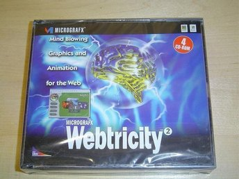 WEBTRICITY PC CD-ROM *NYTT*