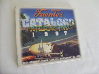 Discos Fuentes Catalogo Interactive 1997 Mac & PC CD ROM